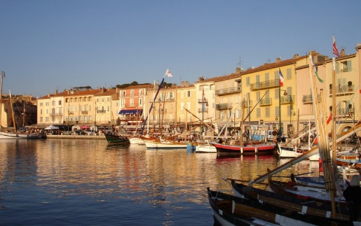Many St. Tropez villas are just a short stroll from the old port of St. Tropez