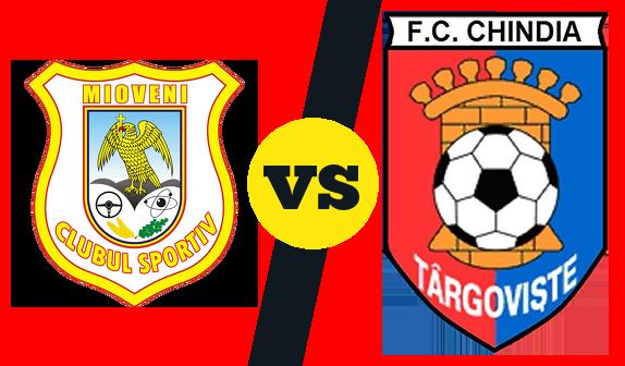 Pronostic Mioveni  Chindia Târgovişte du 10/09 au Stadionul Orăşenesc